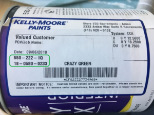 Understanding Sherwin Williams And Kelly Moore Paint Labels